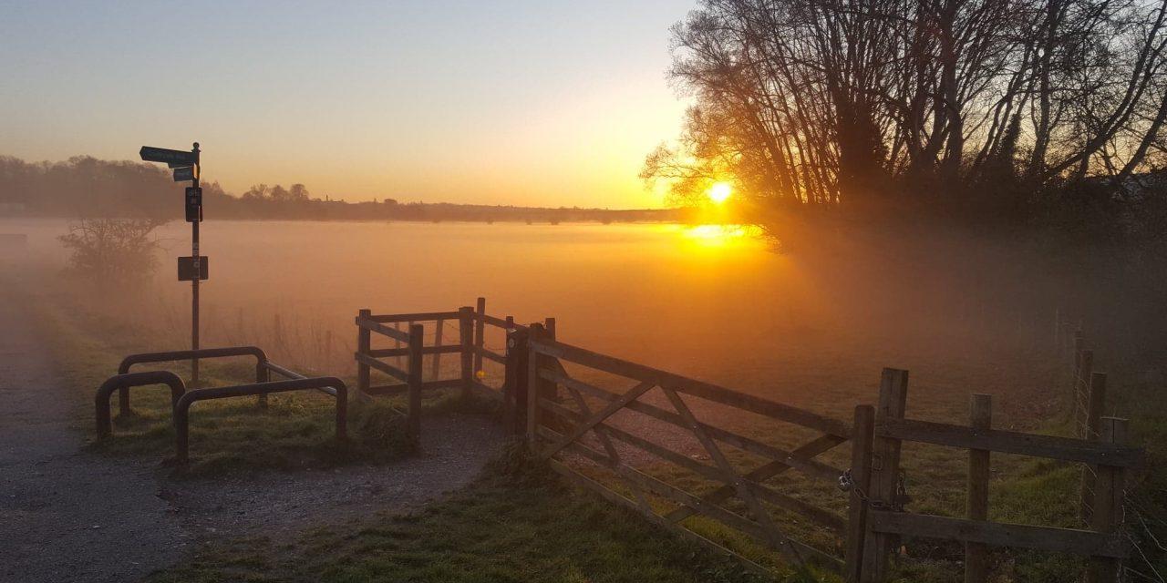 Spectacular Hertford at sunrise