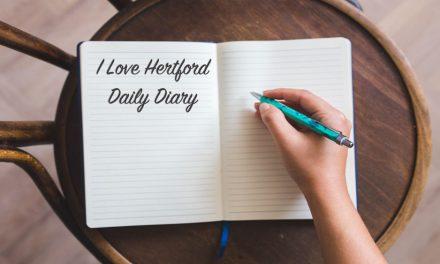 I Love Hertford in the community – Diary